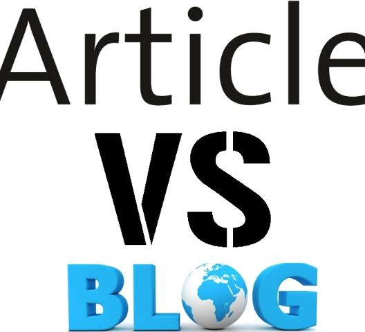 Article Vs Blog Submission