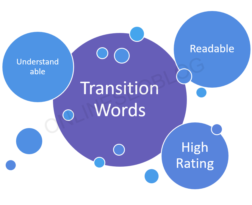 Transition words fix up